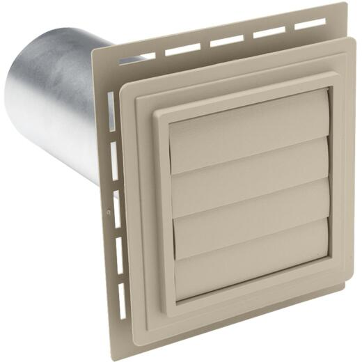 "Ply Gem 7"" x 7"" Tan Vinyl Utility Vents"