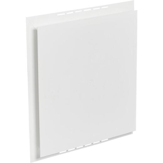 "Ply Gem 16-1/2"" x 15-1/2"" White Vinyl Mounting Blocks"