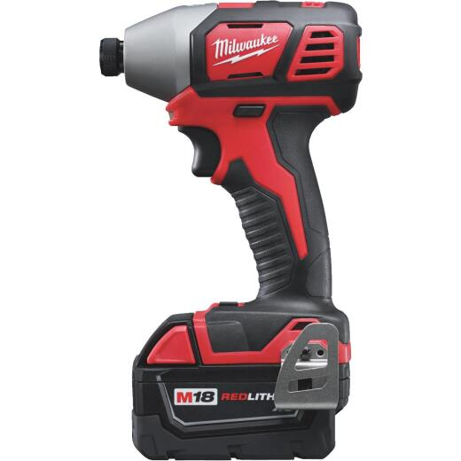 Milwaukee M18 18 Volt XC Lithium-Ion 2-Speed 1/4 In. Hex Cordless Impact Driver Kit (with 2 XC Batteries)