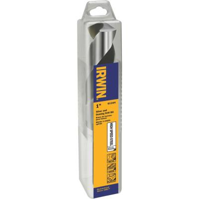 Irwin 1 In. Black Oxide Silver & Deming Drill Bit
