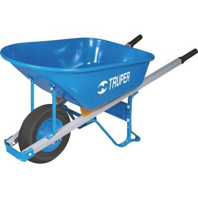 Truper Tru Pro 6 Cu. Ft. Steel Wheelbarrow