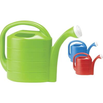 Novelty 2 Gal. Red, Blue, or Green Poly Watering Can