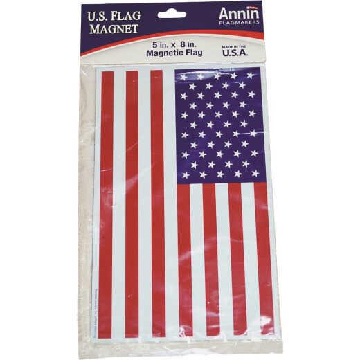 Annin 5 In. x 8 In. Magnetic American Flag