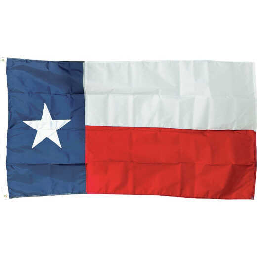 Valley Forge 3 Ft. x 5 Ft. Printed Nylon Texas State Flag